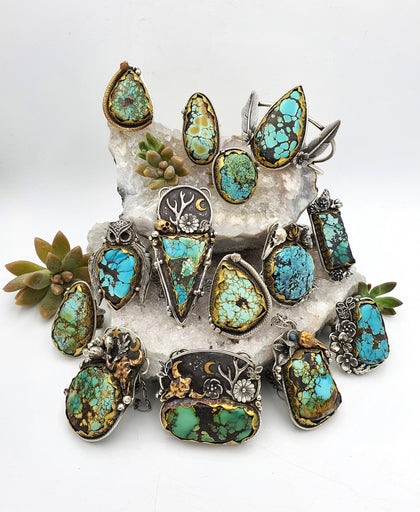 The Turquoise Collection - Shape Of Fire Jewellery Australia