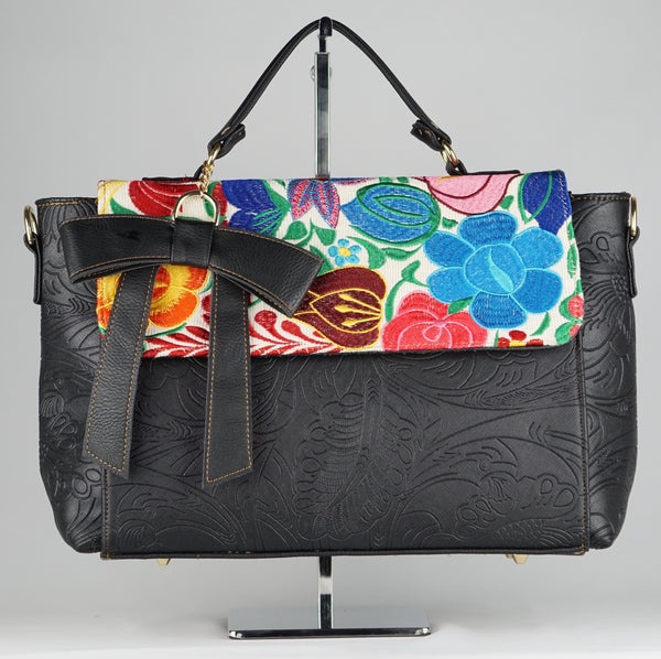 CAMILA TOP HANDLE HANDBAG