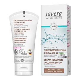 Day Cream Tinted SPF 10 Medium Skin - Lavera