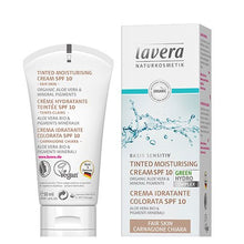 Indlæs billede til gallerivisning Day Cream Tinted SPF 10 - Fair Skin - Lavera