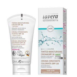 Day Cream Tinted SPF 10 - Fair Skin - Lavera