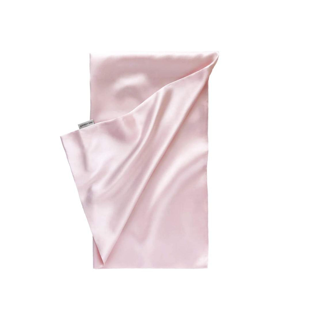 100% SILK PILLOWCASE by Dariia Day - Blush Pink (1 stk)