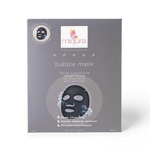 Miqura - BUBBLE MASK (Facial Cleansing sheet mask)