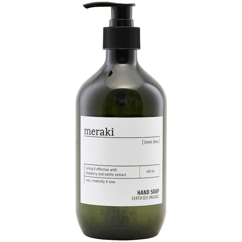 Meraki Hand Soap Linen Dew 490 ml