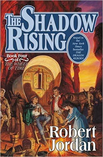 The Shadow Rising: Book Four of The Wheel of Time (Original Hardcover)