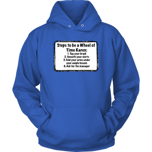 Wheel of Time Karen Hoodie: Whiteboard Collection