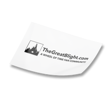 Load image into Gallery viewer, TheGreatBlight.com Long Full Logo Sticker