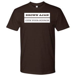 Brown Ajah T-Shirt - Cite Your Sources
