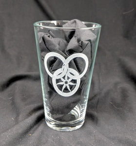 Great Serpent Etched Glassware