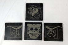 Load image into Gallery viewer, WHEEL OF TIME Inspired Slate Coasters