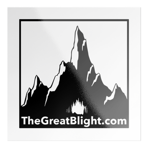 TheGreatBlight.com Sticker