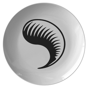 Ceramic Plate - Dragon Fang