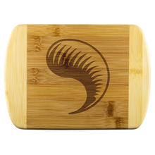 Load image into Gallery viewer, Wood Cutting Board - Dragon Fang