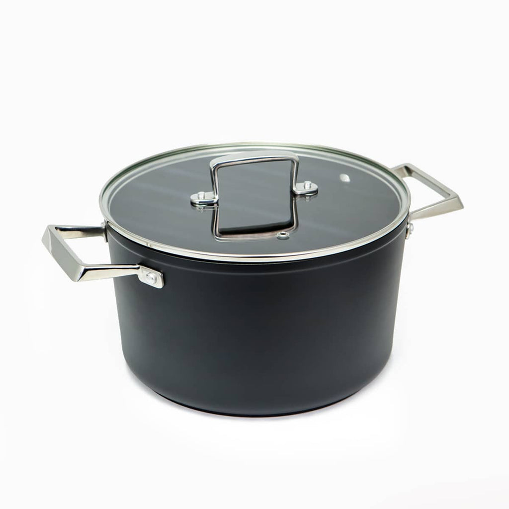 Professional Excellence Premium saucepan with lid, resistant to metal utensils
