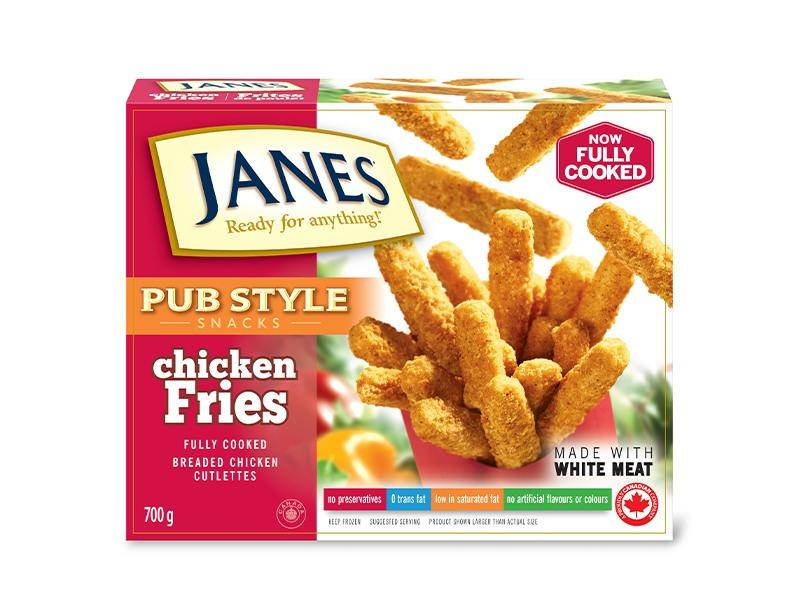 Janes Pub Style Chicken Fries - Fully Cooked - door2doorfresh.com