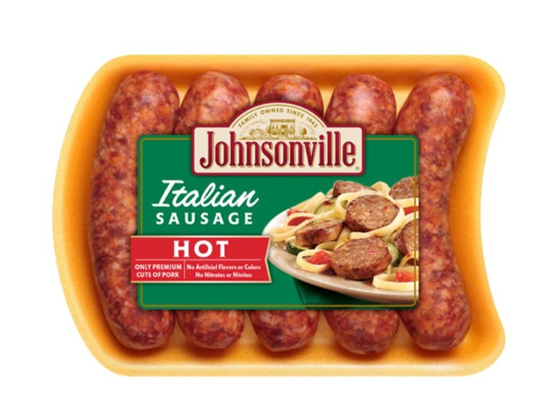Johnsonville Sausage Hot Italian - door2doorfresh.com