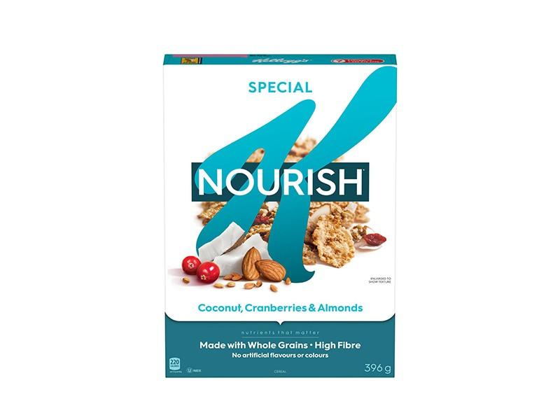 Kelloggs Special K Nourish - Coconut Cranberry Almond - door2doorfresh.com