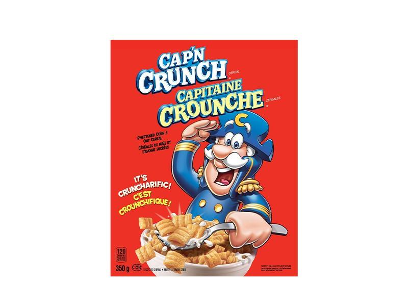 Quaker - Cap`n Crunch Cereal - door2doorfresh.com