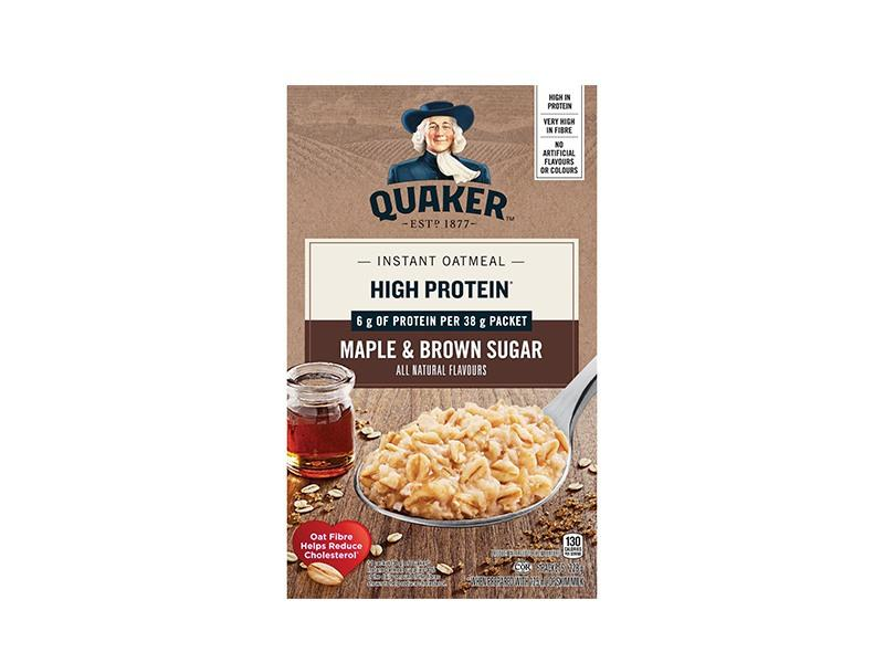Quaker Oats RTS - Protein Maple& Brown Sugar - door2doorfresh.com