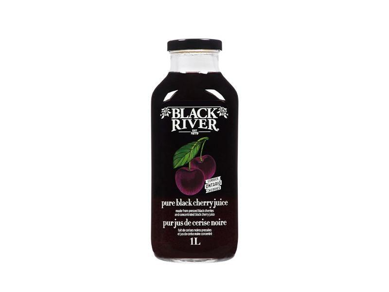Black River - Pure Black Cherry Juice - door2doorfresh.com