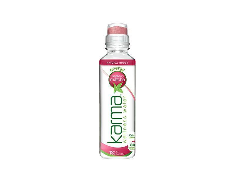 Karma Energy Raspberry Matcha Water - door2doorfresh.com