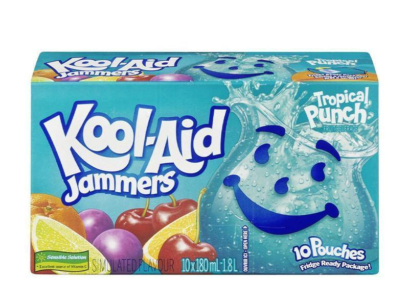 Kool Aid - Jammers Tropical Punch - door2doorfresh.com