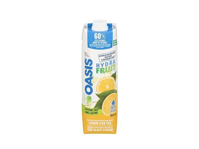 Oasis - Hydrafruit Lemon Iced Tea - door2doorfresh.com