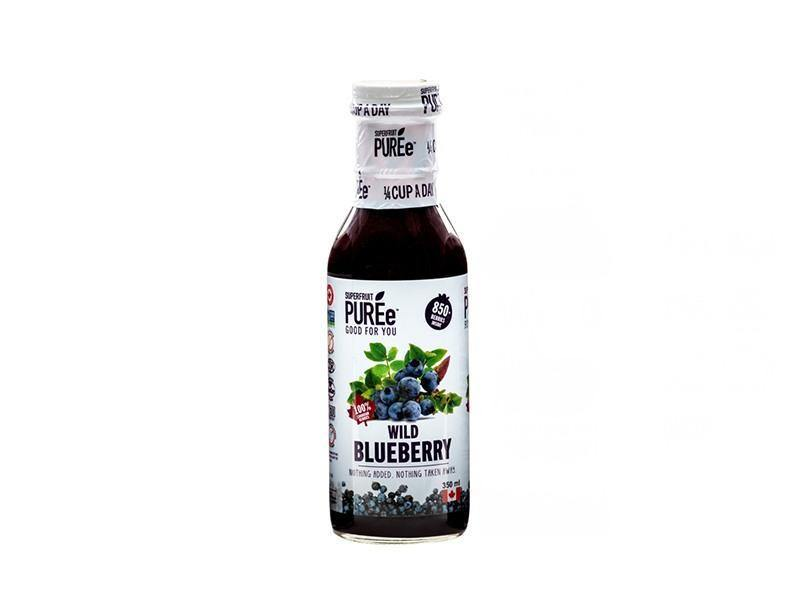Superfruit Puree - Wild Blueberry Puree - door2doorfresh.com