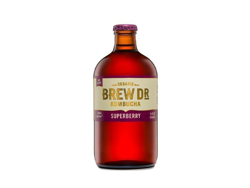 Brew Dr Kombucha Organic Superberry - door2doorfresh.com