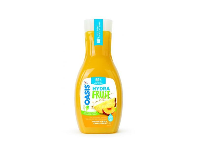 Oasis - Hydrafruit Pineapple Peach Juice - door2doorfresh.com