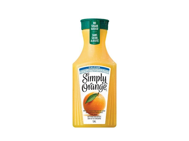 Simply OJ with Calcium - door2doorfresh.com