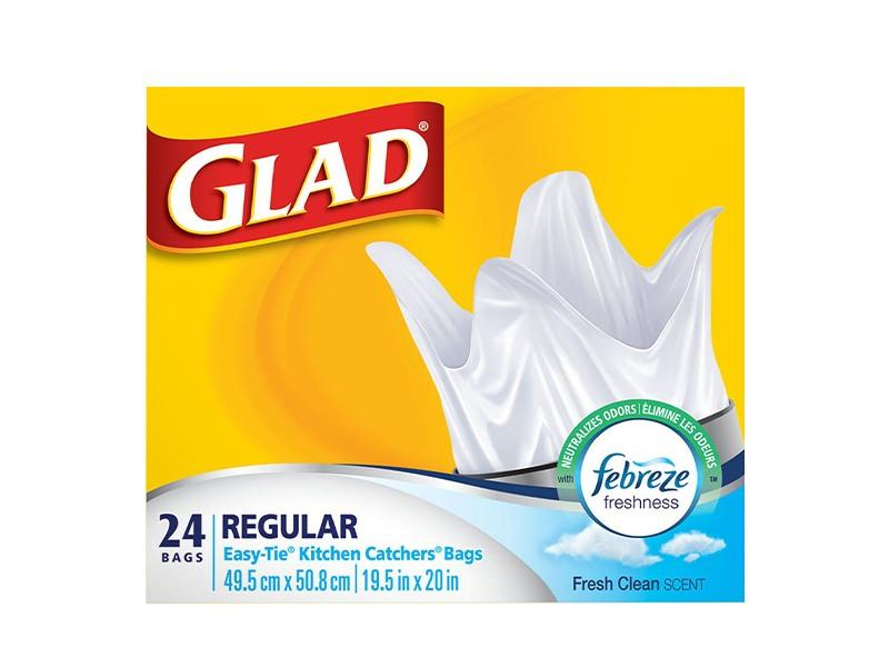 Glad Kitchen Catchers - Regular with Febreze - door2doorfresh.com