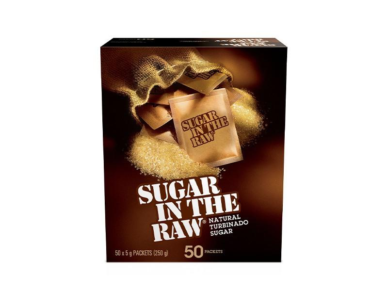 Sugar In The Raw - Natural Cane Sugar 50CT - door2doorfresh.com