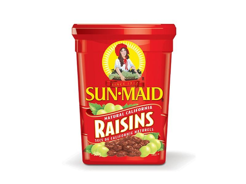 Sunmaid - Natural California Raisins - door2doorfresh.com