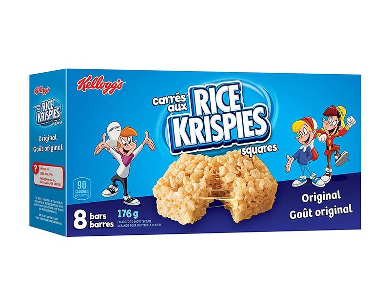 Kelloggs Rice Krispies Square Bars Regular - door2doorfresh.com