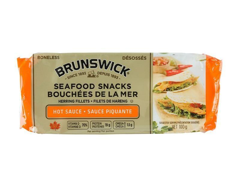 Brunswick Seafood Snacks - Hot Sauce - door2doorfresh.com