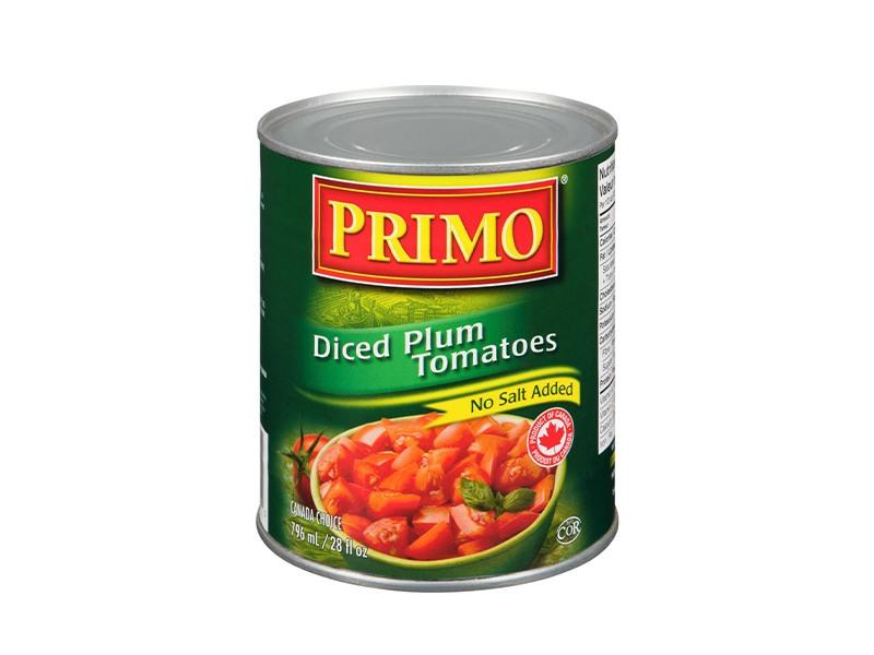 Primo - Diced Plum Tomatoes - door2doorfresh.com