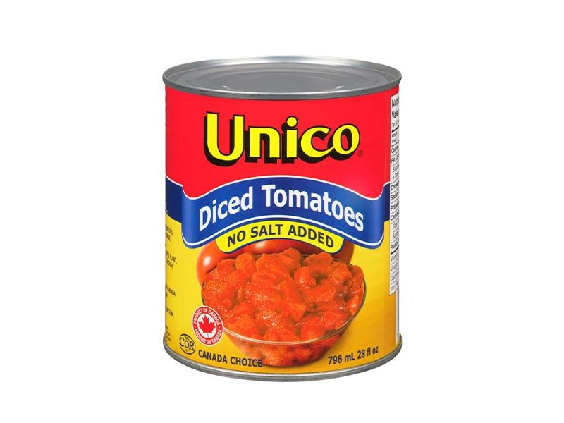Unico Diced Tomatoes No Salt - door2doorfresh.com