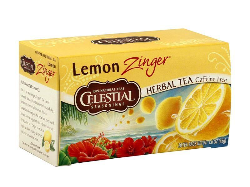 Celestial Tea- Lemon Zinger - door2doorfresh.com