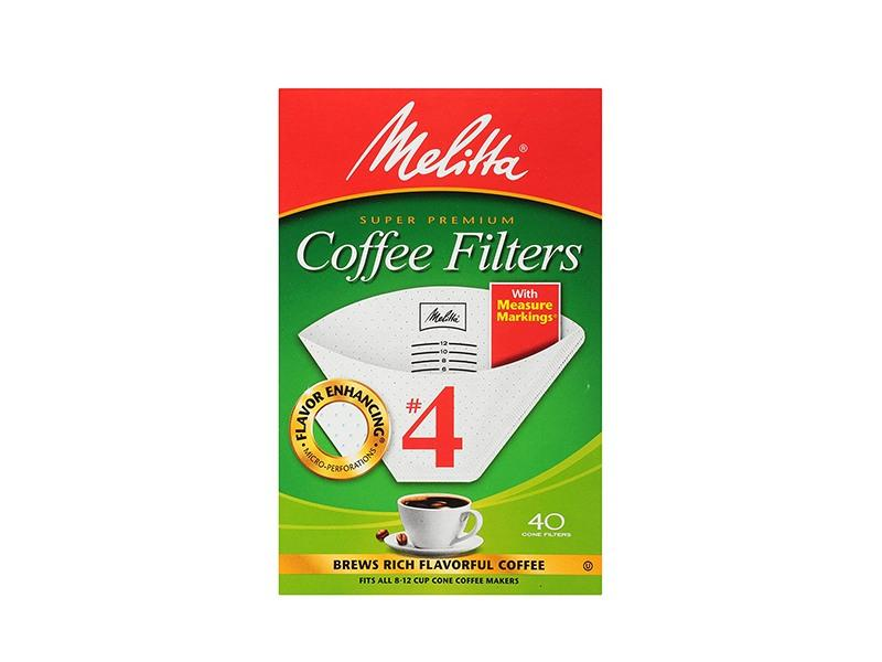 Melitta - Coffee Filters # 4 Cone - door2doorfresh.com