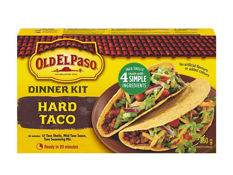 Old El Paso - Hard Taco Dinner Kit - door2doorfresh.com