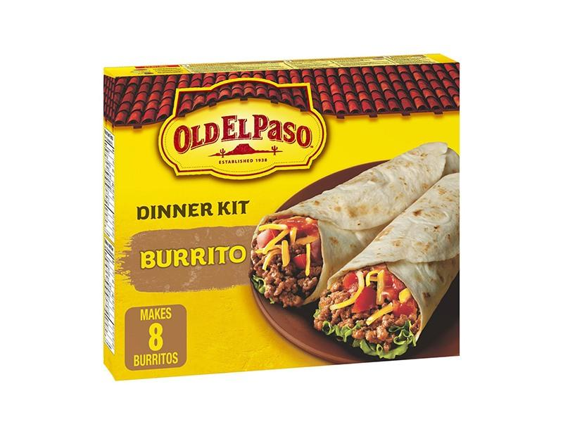 Old El Paso - Burrito Dinner Kit - door2doorfresh.com