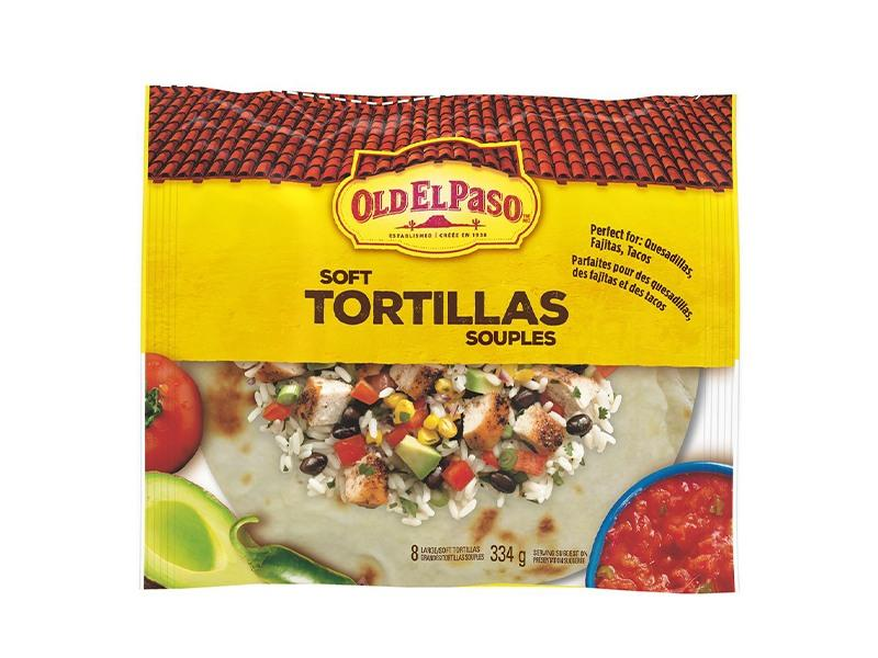 Old El Paso - Soft Tortillas Large - door2doorfresh.com