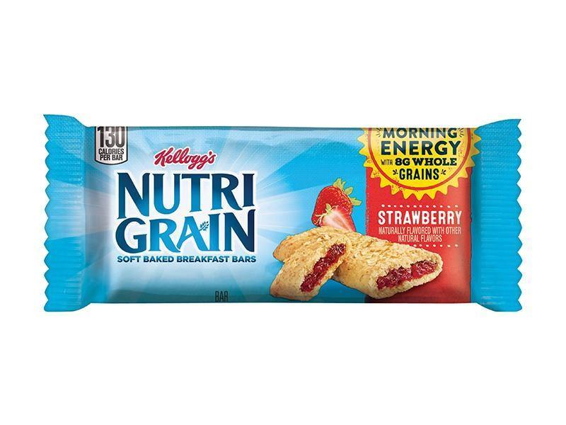 Kelloggs Nutri Grain Cereal Bar Strawberry - door2doorfresh.com