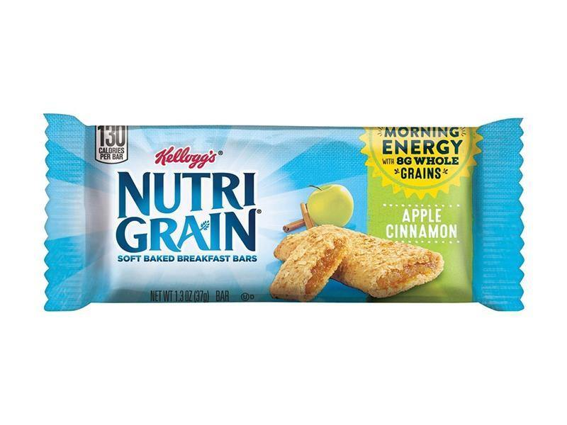 Kelloggs Nutri Grain Bar Apple Cinn - door2doorfresh.com