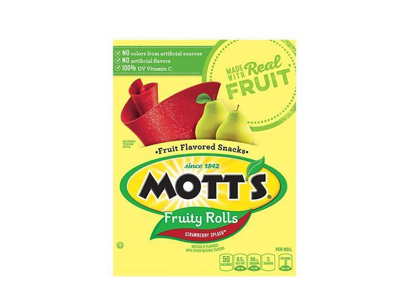 Motts Fruit Rolls Snacks - Strawberry - door2doorfresh.com