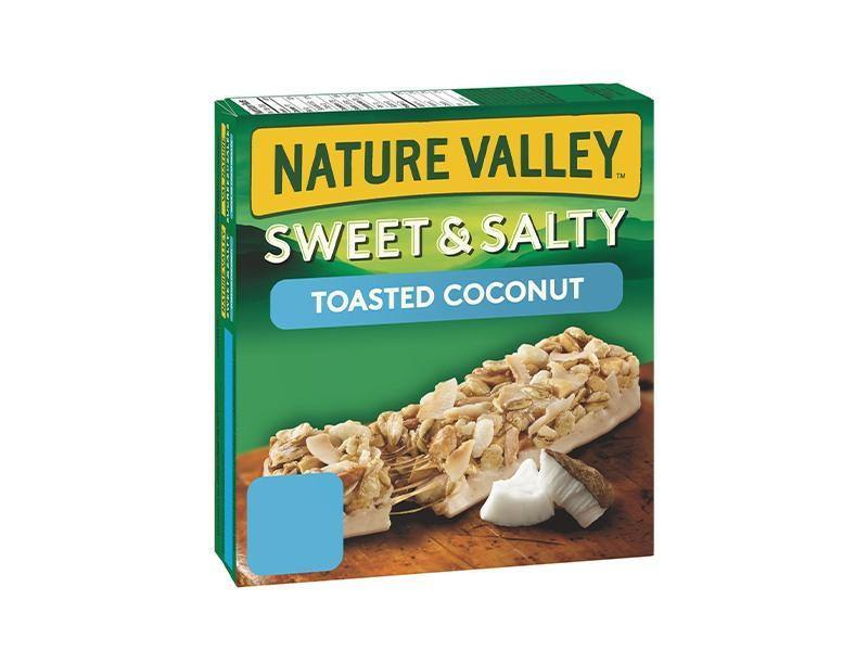 Nature Valley Sweet Salty Toasted Coconut Almond Granola Bars - door2doorfresh.com