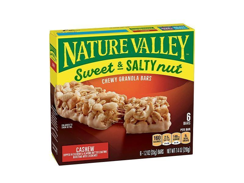 Nature Valley - Sweet Salty Bar Cashew 6Ct - door2doorfresh.com