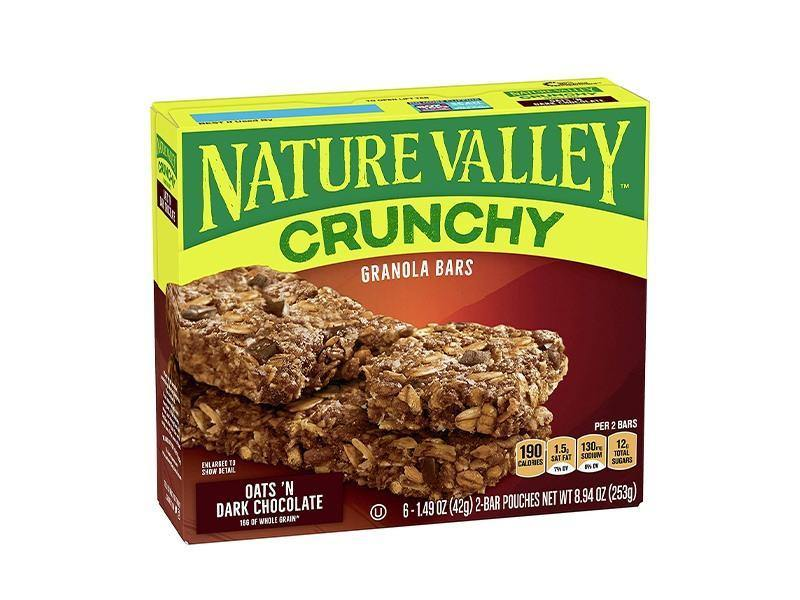 Nature Valley Crunchy Oats N Dark Chocolate Granola Bars - door2doorfresh.com