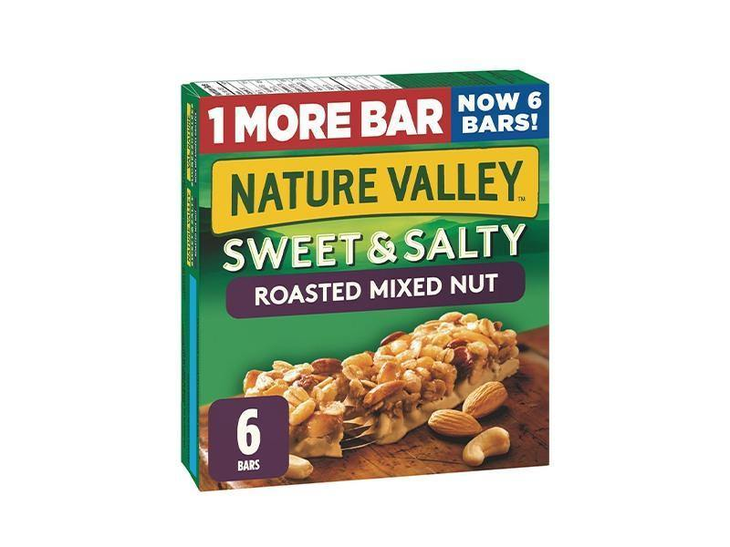 Nature Valley - Sweet Salty Bar Mixed Nuts 6Ct - door2doorfresh.com